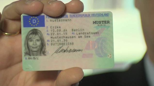 EU-Kartenführerschein    Foto: Bundesdruckerei
